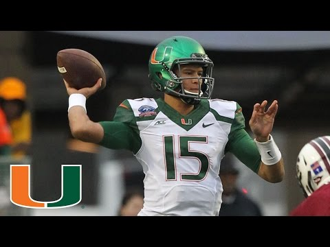 Brad Kaaya Breaking Miami Football Records With Help From His Friends