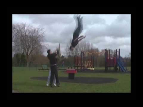 Backwards Parkour - SICK!