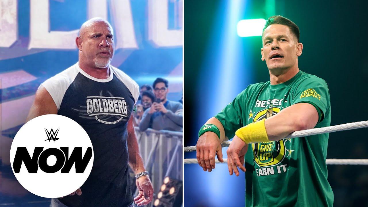 John Cena and Goldberg shake up WWE Universe with jaw-dropping returns: WWE Now, July 22, 2021