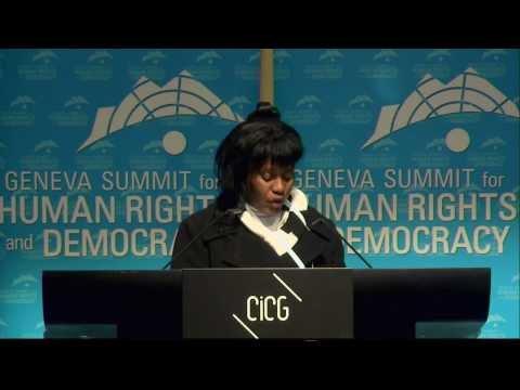 2014 Geneva Summit: Damarys Moya Portieles, Cuban Activist