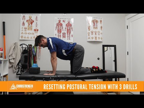 Pain due to BAD posture? Here's a great way to relieve that postural Stress.