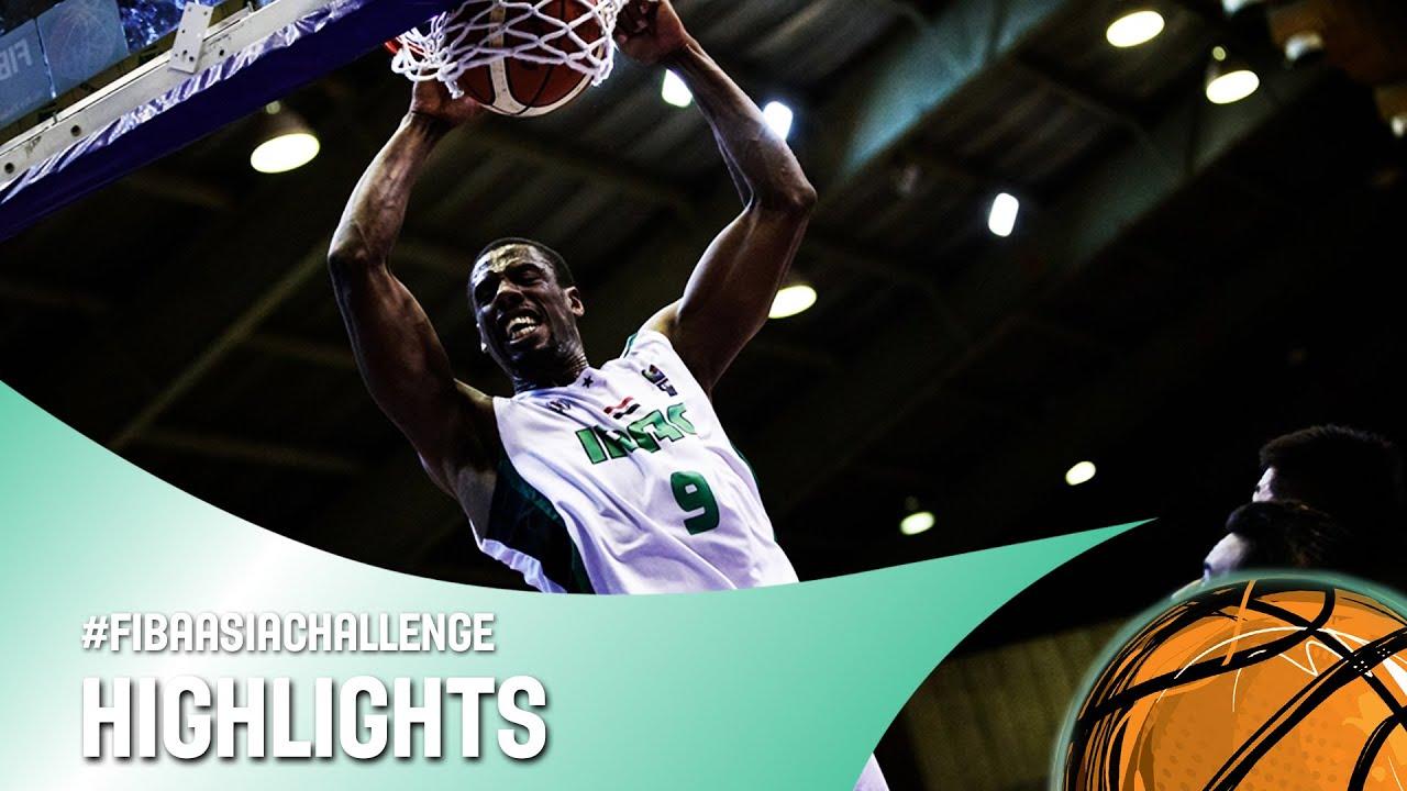 Iraq v China - Quarter Final Highlights - FIBA Asia Challenge 2016
