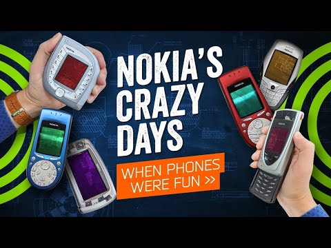 When Phones Were Fun – And Nokia Was Crazy