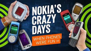 When Phones Were Fun - And Nokia Was Crazy
