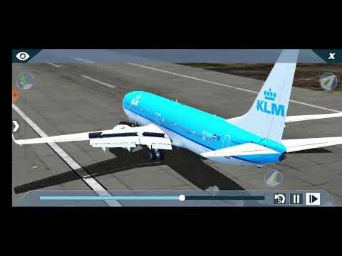 Boeing 737 turbulence landing at Seychelles intl X-Plane 10