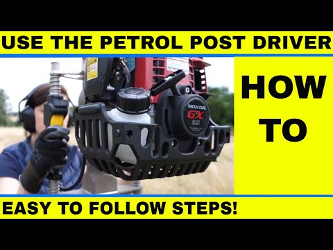 How to use the Easy Petrol Post Driver
