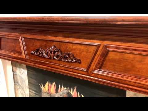 The New England Mantel (Cherry with Stain Match)