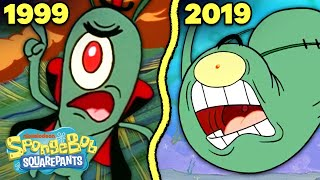 PLANKTON Timeline!  20 Years of Getting KICKED OUT of the Krusty Krab | SpongeBob