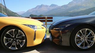 Жизнь в Lexus LC 500  [4k/UHD] за 2 дня через 5 стран [2/2]