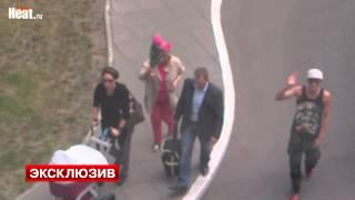 Павел Воля привез Ляйсан Утяшеву с ребенком в Москву