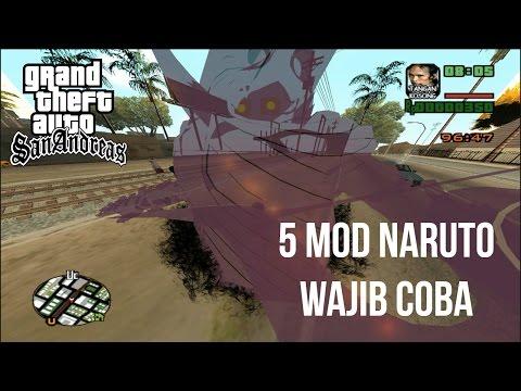 5 Mod Naruto WAJIB Di Coba Di GTA SanAndreas, Susanoooo ~ Show Case Mod GTA SA