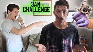 Video DO NOT GET A TATTOO AT 3 AM! 3 AM CHALLENGE GONE WRONG! download MP3, 3GP, MP4, WEBM, AVI, FLV Juni 2017