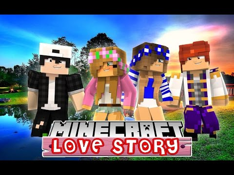 LITTLE KELLY AND LITTLE CARLYS DOUBLE DATE IS RUINED | MINECRAFT LOVE STORY | - Видео из Майнкрафт (Minecraft)
