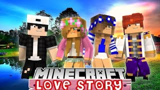LITTLE KELLY AND LITTLE CARLYS DOUBLE DATE IS RUINED | MINECRAFT LOVE STORY |