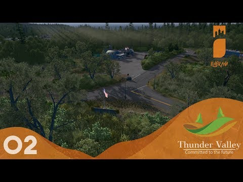 Cities Skylines: Thunder Valley - Ep 2 : EagleWood