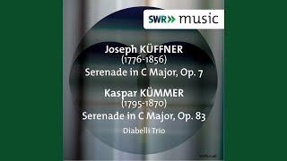 Serenade in C Major, Op. 7: III. Tema: Allegretto -