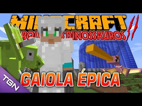 Minecraft Parque dos Dinossauros II - #3 GAIOLA ÉPICA