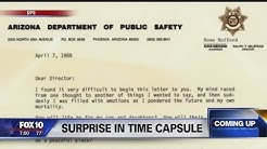Arizona DPS opens time capsule to celebrate 50th anniversary