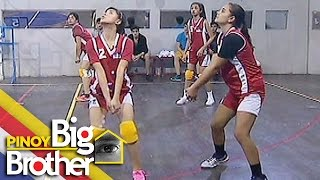 Pinoy Big Brother Season 7 Day 62: Girl Housemates, natalo sa unang set ng kanilang voleyball game
