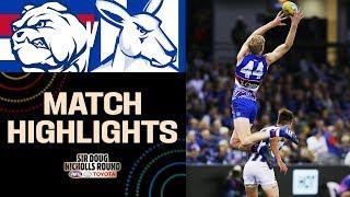 Brad Scott farewells   Western Bulldogs v North Melbourne Highlights   Round 10, 2019   AFL