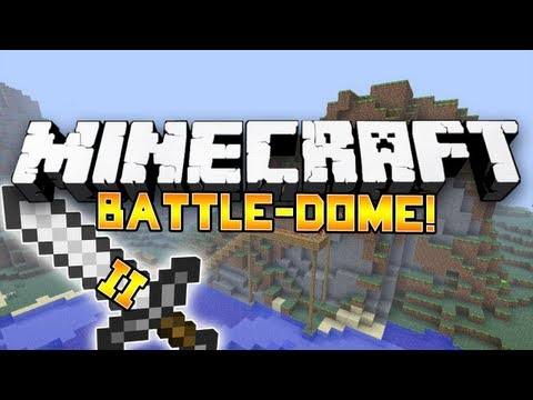 Minecraft Mini-Game: Battle-Dome! #8: w/Pete, Ryan, Shadow & Jordan!