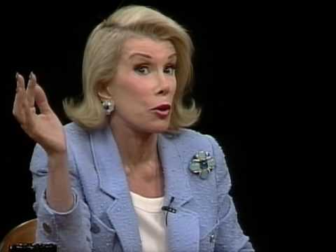Joan Rivers Job İnterview On Charlie Rose 1997 & Sims 19302001