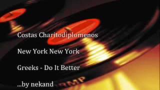 Costas Charitodiplomenos   New York New York Maxi