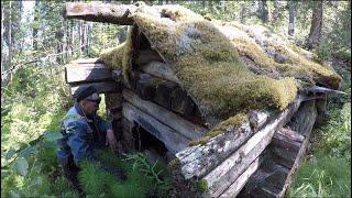 Рыбалка на озере Обзор ДЕЗЕРТИРСКОЙ избы Рыбалка на спиннинг и самоловки Часть 1