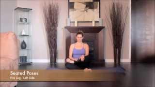 Yoga Fire Log Left Side