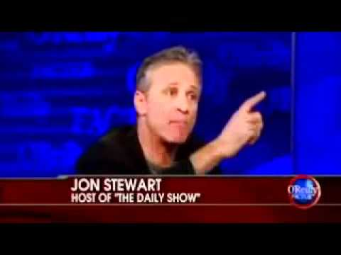 Jon Stewart Exposes Bill O'Reilly's Stupidity on Bill's show