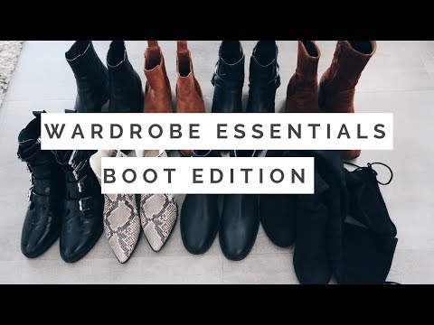 8 FALL/ WINTER BOOTS YOU NEED || Wardrobe Essentials