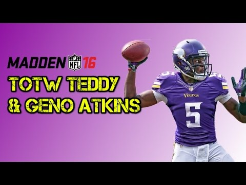 93 GENO ATKINS & TEDDY BRIDGEWATER! New Team of the Week Content | Madden 16 Ultimate Team