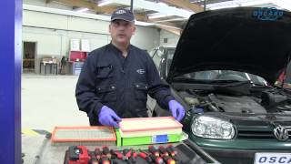 Volkswagen Golf IV - Remplacement du filtre à air