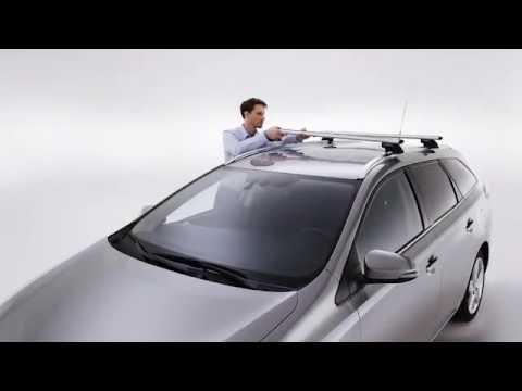 How To Install Toyota Cross Bars Youtube