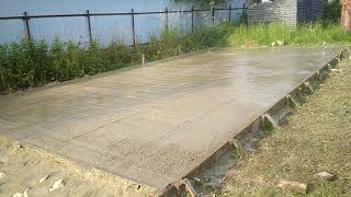 видео Изготовление гаража из железобетонных плит без проблем!