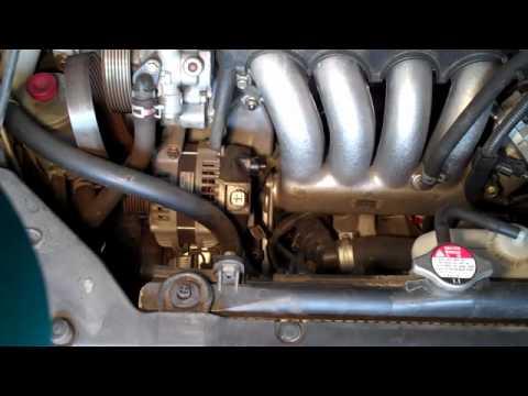 Замена генератора 2004 Honda