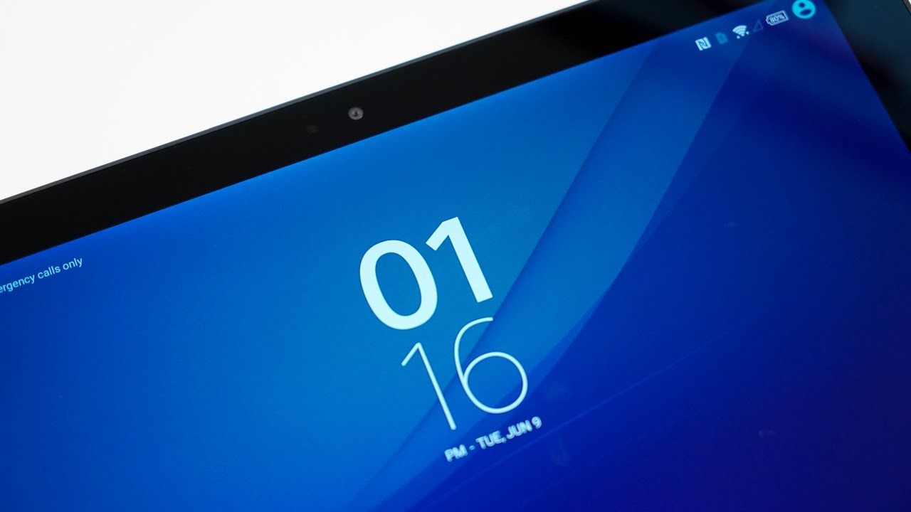 Sony Xperia Z4 Tablet Unpacking
