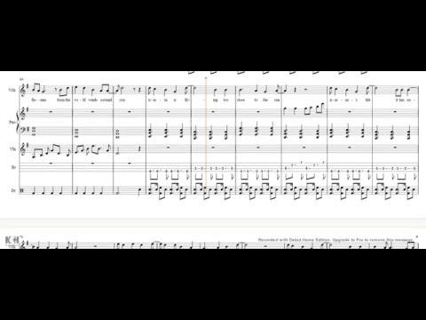 Icarus - Bastille sheet music lyrics/piano/vocals/violin/drums/bass guitar cover tutorial