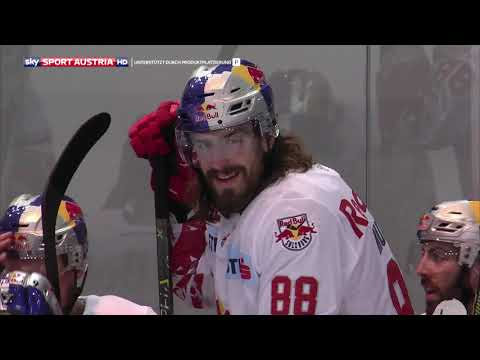 Erste Bank Eishockey Liga 2017/18, Runde 20: EC Red Bull Salzburg – Graz 99ers 2:1 n.SO.