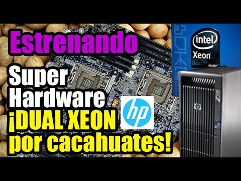 Dobles XEON Super baratos! Workstation Z600 - Droga Digital