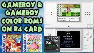 The Best GameBoy/GameBoy Color Emulator For R4!
