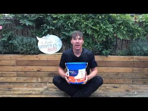 Benedict Cumberbatch's Ice Bucket Challenge for #MND