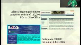 osc14: Michael Meeks, The Document Foundation and LibreOffice