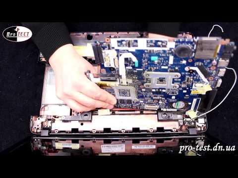 Как разобрать Packard Bell P5WS0. Ремонт ноутбука Макеевка. Сервисный центр Макеевка.