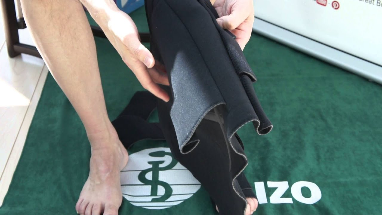 119cf38fe7 Juzo Adjustable Compression System Foot and Calf - YouTube