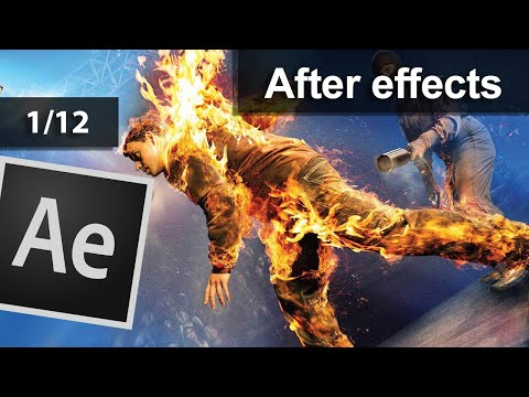 دورة افتر افكتس وموشن جرافيك كاملة للمبتدئين Adobe After effects CS6