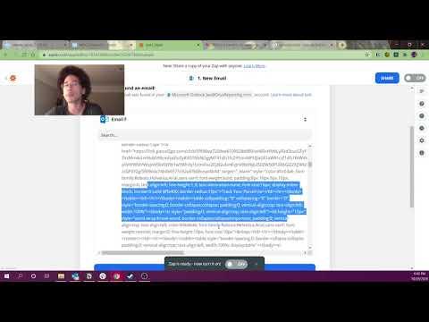Domo Tutorial // upload emails to Domo using Zapier & JSON Webhooks. Analyze emails using Magic 2.0