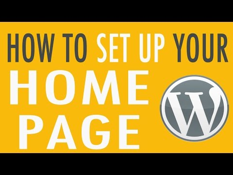 📌 How to Set Up Your Home Page or Post Page in WordPress