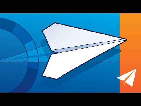 Why Your Paper Airplane Sucks —  Tips for Throwing and Adjusting Paper Airplanes