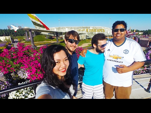 TRAVEL DUBAI VLOG | Dubai Miracle Garden 杜拜旅遊 #2